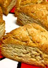Rustic Scones Made with Canola Oil