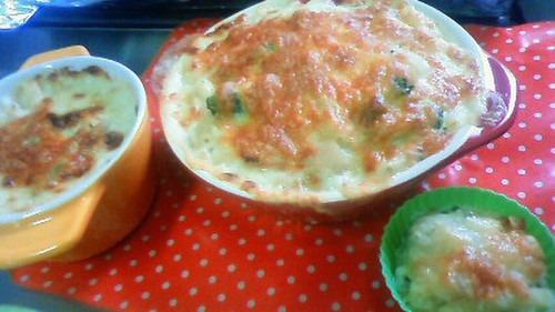 Macaroni Salad Gratin