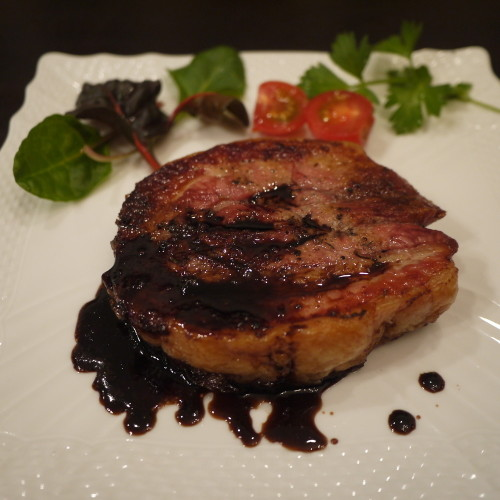 Crispy, Meltingly Soft Pork Belly Steak