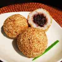 Non-fried Rice Sesame Balls