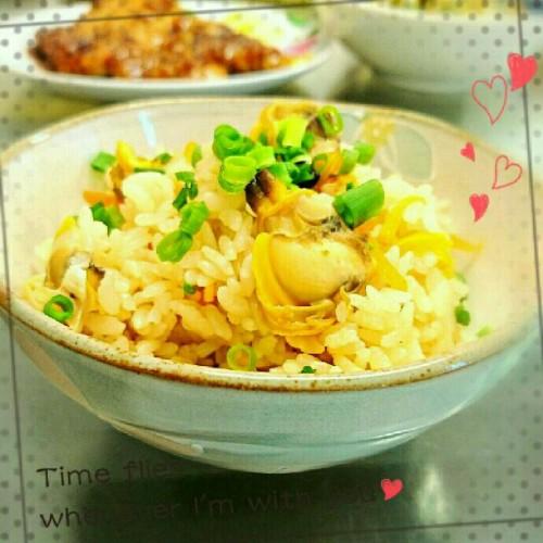 Manila Clam Rice