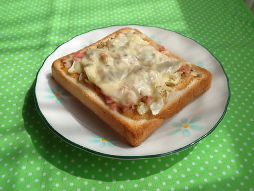 Yakisoba Flavored Toast