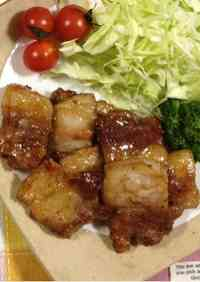 Pork Belly in Oyster Sauce