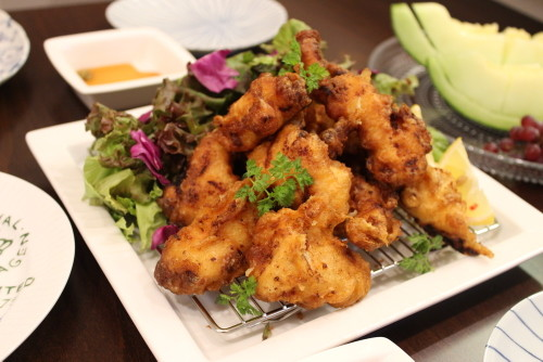 Our Family's Favorite Chicken Tempura with Shio-Koji