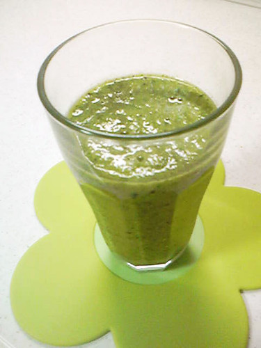 Green Smoothie for Breakfast