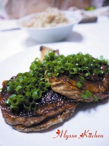 Macrobiotic Kurumabu Steak