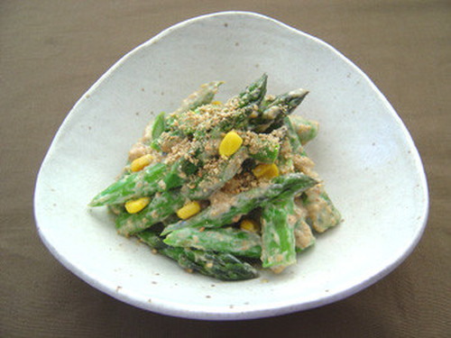 Asparagus and Corn Salad
