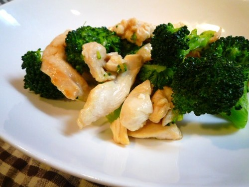 Sautéed Chicken Breast with Broccoli