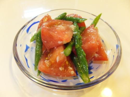 Marinated Tomatoes and Asparagus with Shio-Koji