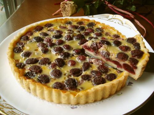 ''Flan aux Cerises' Cherry Tart