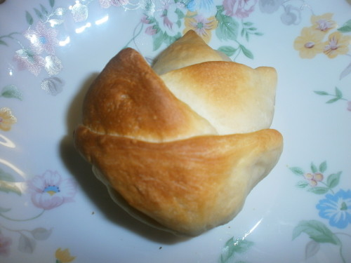 Bamboo Shoot Shaped bread