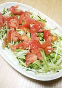 A Very Easy Lettuce Salad