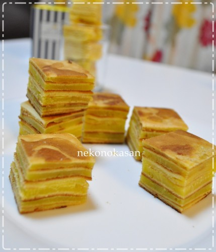 Folding Method for Baumkuchen
