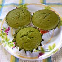 Matcha Muffins♡ with Pancake Mix