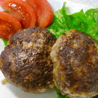 Simple Hamburgers using Spring Cabbage
