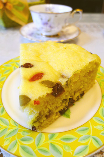 Chinese Steamed Castella Cake