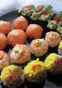 Birthday Temari Sushi Balls