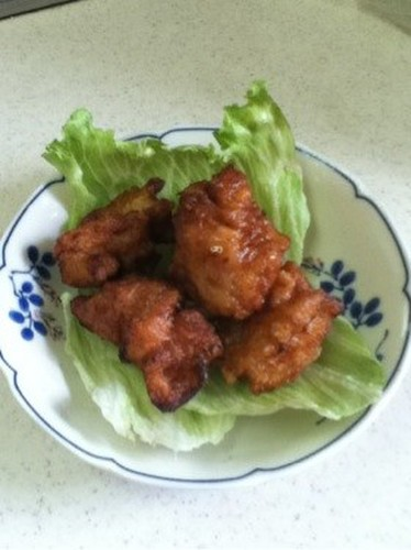 Tender Chicken Karaage with Shio-koji