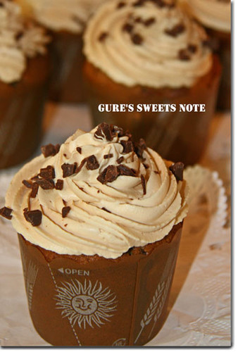 Coffee-Chocolate Cupcakes