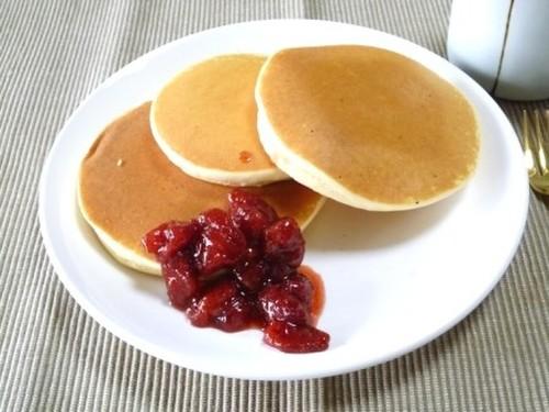 Puffy Rice Flour Pancakes