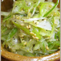 Leek Namul for Samgyeopsal or other Korean Dishes