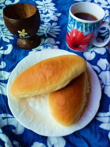 Chamorro Sweet Roll Style Hot Dog Buns