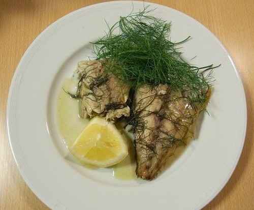 Grilled Mackerel with Fennel