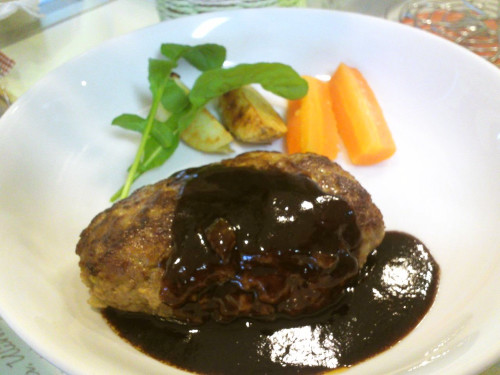 Umami Hamburger Steak