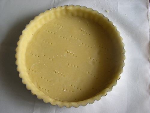 Sweet Pastry For Tart Crust (Pâte Sucrée)