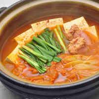 Korean Cuisine - Kimchi Jjigae with Tarako