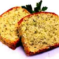 Egg-free Parsley & Cheese Pound Cake