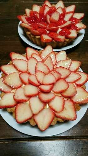 A Big Hit A Strawberry Tart