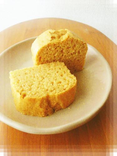 Fluffy Tofu and Kinako Roasted Soy Flour Cake