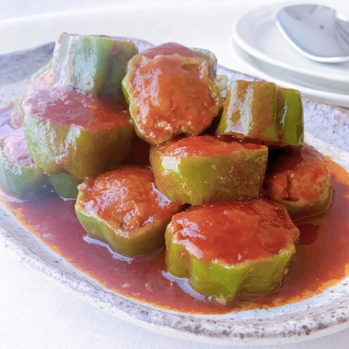 Easy and Delicious Stuffed Green Bell Peppers