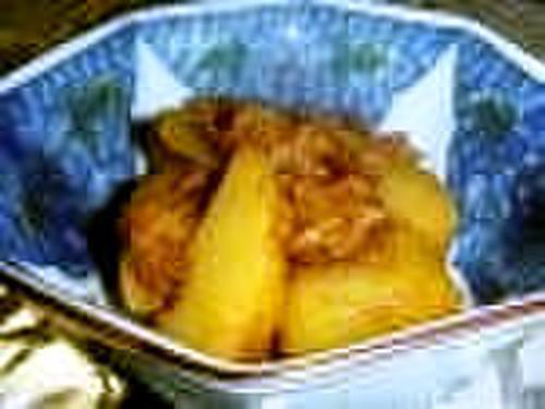 Yummy Yummy Simmered Potatoes and Tuna