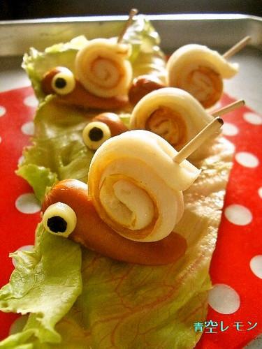 Charaben Wiener Sausage and Chikuwa Snails