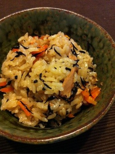 Easy Japanese-style Rice with Tuna