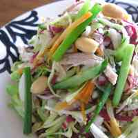 Vietnamese-Style Chicken Salad with Heaps of Vegetables