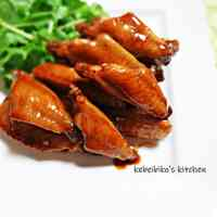 Simmered Chicken Wings