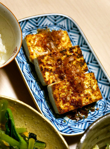 Just Fried Firm Tofu: Easy Homemade Atsuage-Style Dish