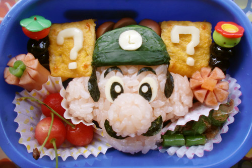 For Charaben, Luigi from Super Mario Brothers