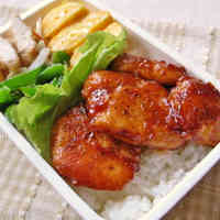 Handy as a Bento Dish Ketchup Flavored Fried Chicken Breast