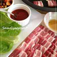 Samgyeopsal: Korean-style Pork Belly BBQ At Home