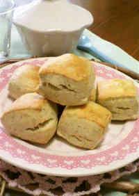 Fragrant Soy Milk & Rye Flour Scones