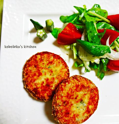 Shio-Koji Soboro and Ricotta Cheese Italian Croquette