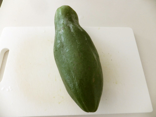 How to Prepare Green Papaya