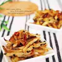 Crunchy Crispy Potato Kinpira