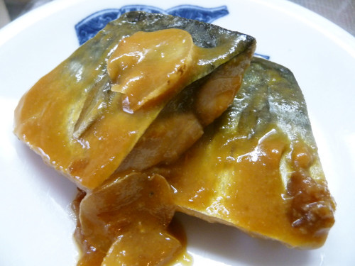 Mackerel Simmered in Glossy Miso Sauce in 10 Minutes