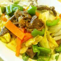 Beef and Miso Vegetable Stir Fry
