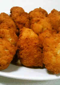 Chicken Nuggets from Breast Meat and Okara